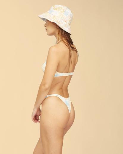 3 Wrangler Western Shore Lulu - Bandeau-Bikinioberteil für Frauen Weiss Z3ST04BIF1 Billabong