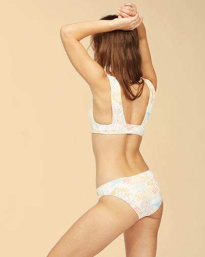 3 Wrangler Western Shore - Haut de bikini pour Femme Blanc Z3ST06BIF1 Billabong