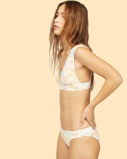 2 Wrangler Western Shore - Haut de bikini pour Femme Blanc Z3ST06BIF1 Billabong