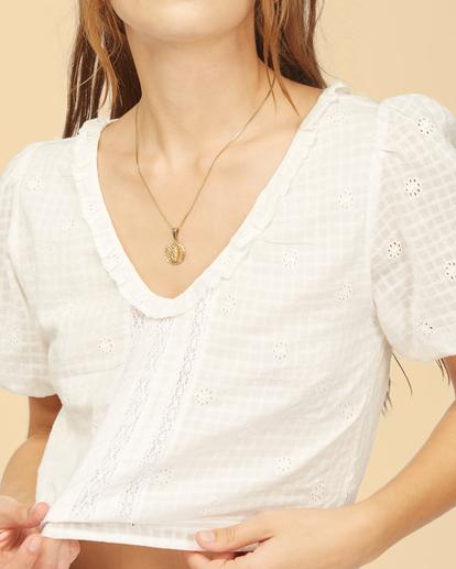 4 Wrangler Simply - Crop top pour Femme Blanc Z3TP15BIF1 Billabong