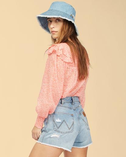 3 Wrangler Carefree - Bluse für Frauen Rot Z3TP17BIF1 Billabong