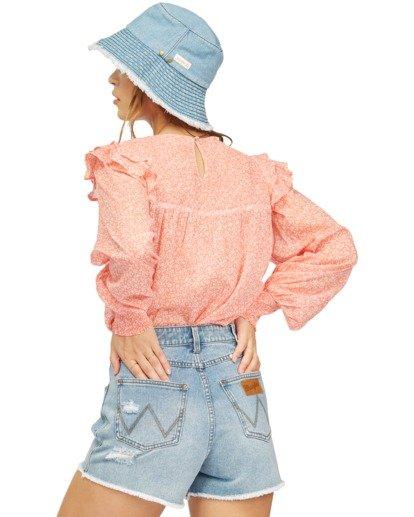 4 Wrangler Carefree - Bluse für Frauen Rot Z3TP17BIF1 Billabong
