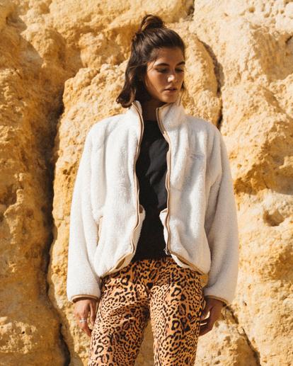 0 New Life - Fleece for Women Beige Z3WA05BIF1 Billabong