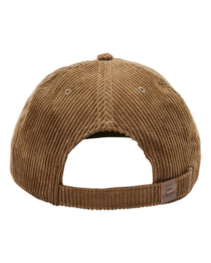 4 Wrangler Rose Garden - Strapback Cap for Men Brown Z5CS05BIF1 Billabong