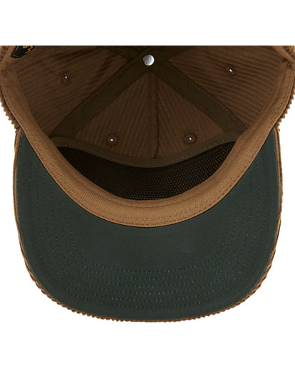 5 Wrangler Rose Garden - Strapback Cap for Men Brown Z5CS05BIF1 Billabong