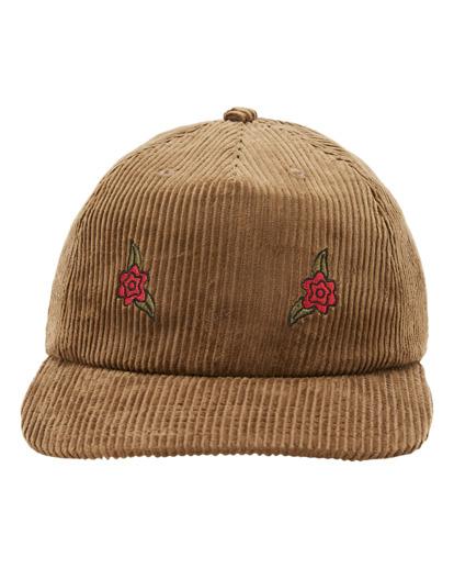 2 Wrangler Rose Garden - Strapback Cap for Men Brown Z5CS05BIF1 Billabong