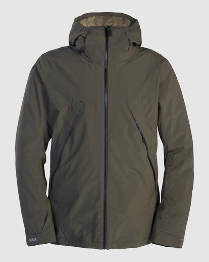 8 Expedition - Snowboard/Ski Jacket for Men Green Z6JM21BIF1 Billabong