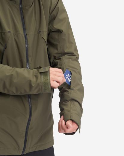 5 Expedition - Snowboard/Ski Jacket for Men Green Z6JM21BIF1 Billabong