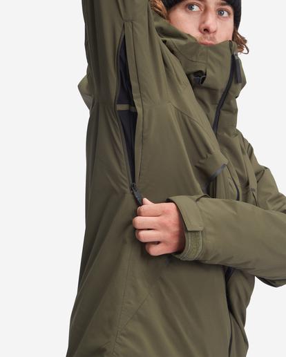 6 Expedition - Snowboard/Ski Jacket for Men Green Z6JM21BIF1 Billabong