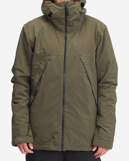 0 Expedition - Snowboard/Ski Jacket for Men Green Z6JM21BIF1 Billabong