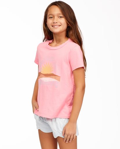 1 Day In Paradise - Camiseta para Chicas adolescentes Rosa Z8SS02BIF1 Billabong