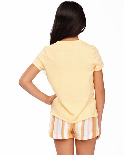 2 Heart Of Sunshine - Camiseta para Chicas adolescentes Amarillo Z8SS06BIF1 Billabong