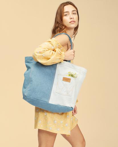 1 Wrangler Homestead - Tote bag pour Femme Beige Z9BG19BIF1 Billabong