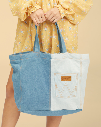 2 Wrangler Homestead - Tote bag pour Femme Beige Z9BG19BIF1 Billabong
