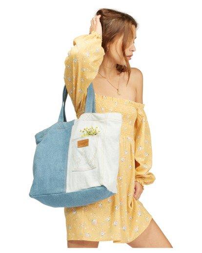 4 Wrangler Homestead - Tote bag pour Femme Beige Z9BG19BIF1 Billabong