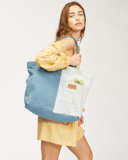 7 Wrangler Homestead - Tote bag pour Femme Beige Z9BG19BIF1 Billabong