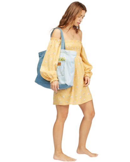 9 Wrangler Homestead - Tote bag pour Femme Beige Z9BG19BIF1 Billabong