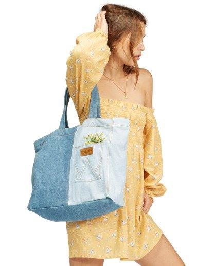 10 Wrangler Homestead - Tote bag pour Femme Beige Z9BG19BIF1 Billabong