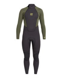Intruder 3/2mm Intrdr Bz GBS - Back Zip Wetsuit for Men  043M18BIP0