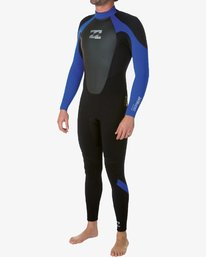 4/3mm Intruder - Wetsuit for Boys  044B15BIPP