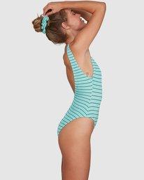 Black Striped+Wavy Swimwear 1 Piece Red Purple Women/' Blue Green