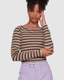 DESERT STRIPE TOP  6591141M
