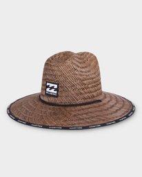 WAVES STRAW HAT  9691309