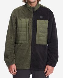 Glacier Offcut - Zip-Up Sweatshirt for Men  A1HO18BIMU