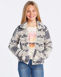 Billabong Girls Warm and Cozy Zip Fleece Jacket