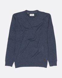 All Day Sherpa Lined Knit Sweater  F1JP01BIF7