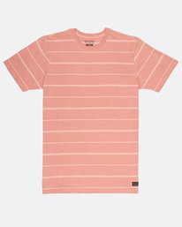 Die Cut Stripe T-Shirt  H1JE12BIP8