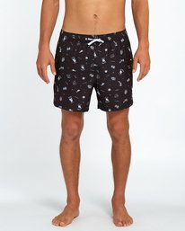 "Never Surf Laybacks 16"" Boardshorts  H1LB01BIP8"