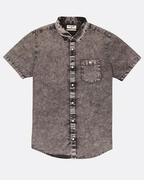 Wave Washed Shirt  H1SH06BIP8