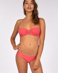 Sol Searcher V Wire Bandeau Bikini Top  H3ST06BIP8