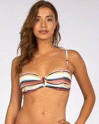 Easy Daze Bustier Bikini Top  H3ST13BIP8