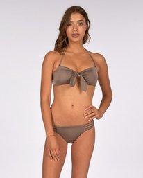 Summer Shine Bandeau Bikini Top  H3ST22BIP8
