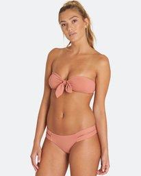 Sol Searcher Knot Me Bandeau Bikini Top  H3ST54BIMU