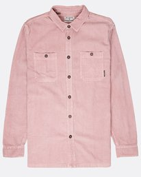 Wave Washed Corduroy Shirt  L1SH11BIF8