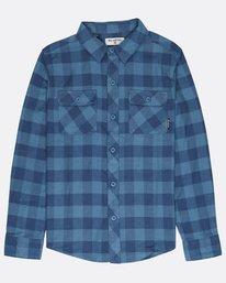 Boys All Day Flannel Shirt  L2SH01BIF8