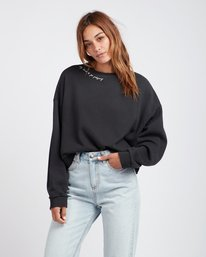 After Night Dolman Sleeves Sweatshirt  L3FL07BIF8