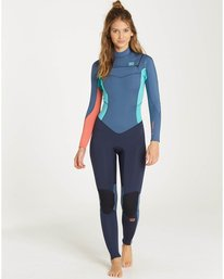 5/4 Teen Girls Furnace Synergy Chest Zip Fullsuit Wetsuit  L45B01BIF8