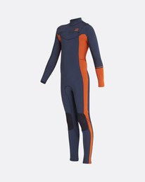 5/4 Boys Furnace Revolution Chest Zip Long Sleeves Wetsuit  L45B04BIF8