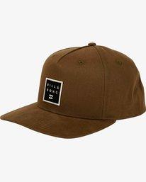 Stacked Snapback Hat  L5CM02BIF8