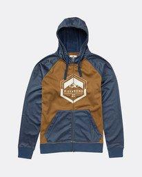 Boys Downhill Snow Zip Hoodie  L6SL02BIF8