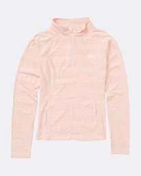 Teen Girls Morning Call Half Zip Layer  L6SN01BIF8