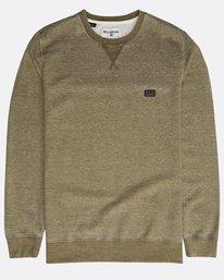 All Day Washed Crew Sweatshirt  N1FL02BIP9