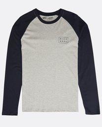 Die Cut Long Sleeve T-Shirt  N1LS01BIP9