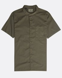 Wave Washed Shirt  N1SH07BIP9