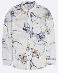 Sundays Floral Long Sleeve Shirt  N1SH13BIP9