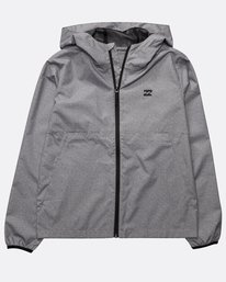 Boys' Transport Windbreaker Sweatshirt  N2JK01BIP9